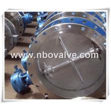 CE Qualificado Válvula Borboleta Wafer PVC (D71H)