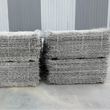 80 * 100mm Gabion Wire Mesh Gabion