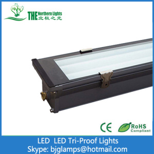 0.6m Tri-Proof Lights with 10w T8 LED Tube Lamps