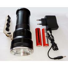 Портативный высокомощный перезаряжаемый фонарик прожектор