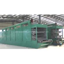 Máquina de secado de cinta de malla