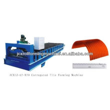 JCX 3kw manual operate arch sheet roll forming machine