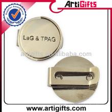 Marcador de bola de clip de gorro de golf de metal personalizado barato