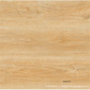 60X60mm Конкурентная натуральная древесина, застекленная фарфоровая плитка