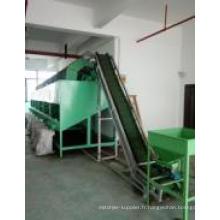 Machine de nettoyage et de traitement des noix de cajou