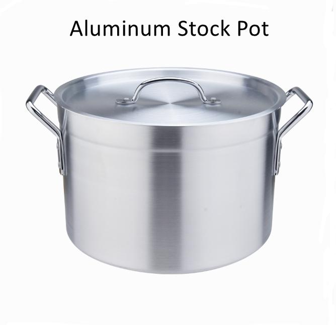Aluminum Stockpot Casserole 1