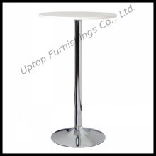 Round Chrome Steel Base High Bar Table (SP-BT620)