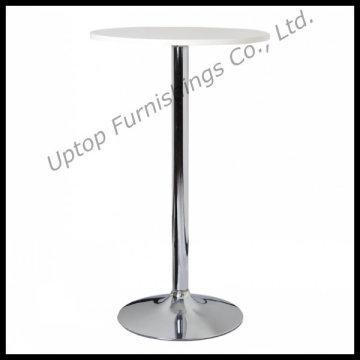 Round Chrome Steel Base High Bar Table (SP-BT620)