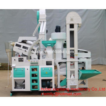 Heißer Verkauf Patent 1.4 T / H Mini Auto Reis Fräsmaschine
