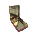 Cigarette Tin Box Wholesale Hinge Tin Container Hot Sale