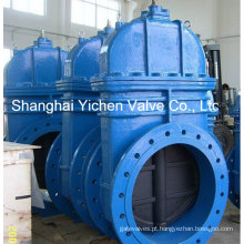 Válvula de porta de ferro de molde padrão de ruído/BS (Z45X)
