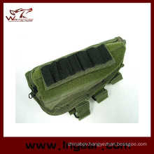 Tactical Airsoft Shotgun Rifle Ammo Pouch Cheek Pad Gun Bag Od