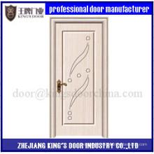 Porte de chambre à coucher Design Porte intérieure en PVC