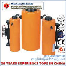 Cilindro de empuje hidráulico de alta presión con alta calidad