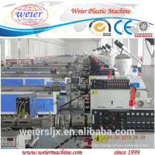wood plastic composite wpc fence post extrusion line