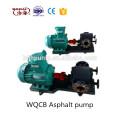 WQCB Asphalt insulation pump Jacket insulation gear pump