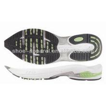 2013 executando esporte sola de sapato sola fabricantes