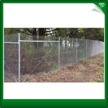 HDG Chain link mesh para área residencial