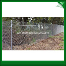 HDG Chain link mesh for residential area