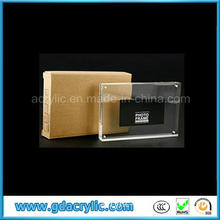 Guangzhou Well Known Acrylic Manufacturer Frameless Acrylic Photo Frame