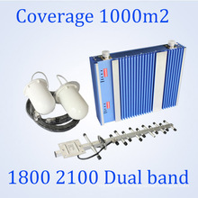 27dBm Lt 1800 / 3G 2100MHz Signal Booster Dual Band GSM Repeater St-Dw27A
