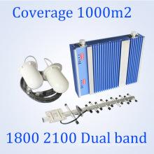 27dBm Lte 1800 / 3G 2100MHz Signal Booster Dual Band Répéteur GSM St-Dw27A