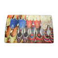Washable beautiful shoes doormat
