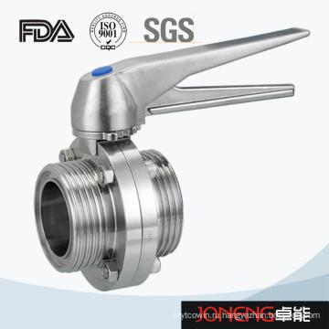 Пластинчатый клапан-бабочка из нержавеющей стали (JN-BV2003)