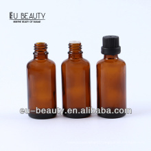 Pharmaceutical amber essential oil bottle 50ml