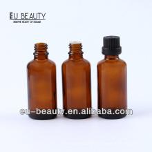 Бутылка с эфирным маслом из фармацевтического янтаря 50 мл