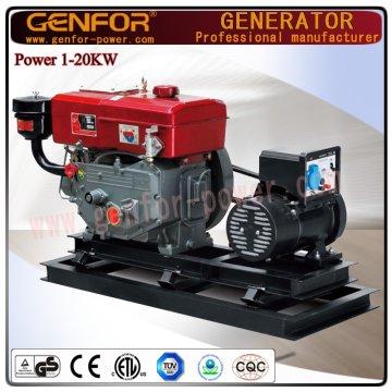 Generatore diesel generico diretto di vendita Genfor Generator Set 5kw