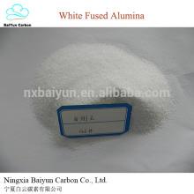 Matières premières abrasives et réfractaires d'alumine fondue blanche Oxyde d'aluminium blanc et corindon blanc