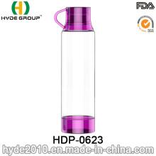 Bouteille d'eau Tritan sans BPA en plastique populaire de 500ml (HDP-0623)