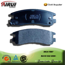 Semi-metallic brake pad for BUICK GL8 2000-