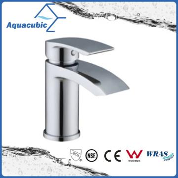 Solid Brass Body Zinc Chromed Handle Bathroom Faucet (AF9902-6)