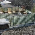 Contemporary OEM hdpe balcony net for germany