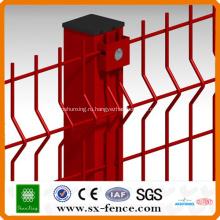 Покрынная PVC сваренная загородка ячеистой сети