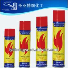 Recharge de gaz butane universelle raffinée 5X / Gaz de puissance 5x / gaz raffiné 5x pour briquets