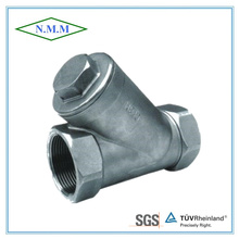Stainless Steel Threaded End Y Filter in 800wog