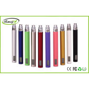 Green Purple Lcd E Cigarette Rechargeable Batteries For Ego Clearomizers , 14mm * 129mm