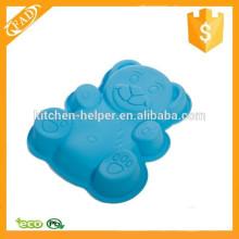 Практичный простой и здоровый пользовательский силиконовый плюшевый медвежонок для выпечки и выпечки