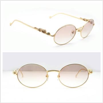 Gafas de sol de moda / Diamond Panthere serie limitada gafas de sol