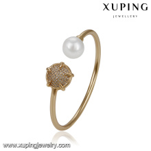 51778 xuping shopping online elegant jewellery , popular cuff bangle