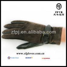 2013 guantes de ante diseñados de invierno