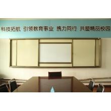 Goldenes Qualitäts-Schiebe-Whiteboard für TV-Bildschirm oder Smart Board