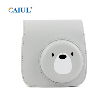 Cute Bear Instax Mini 9 Camera Case