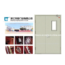 30mins 60mins 90 Minsdouble Leaf Swing Fireproof Door