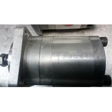 Motor de engranaje de bomba hidráulica para raspador de motor con cojinete exterior