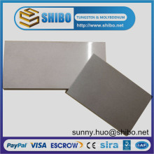 99.95% Pure Polished Tungsten Sheets and Plates