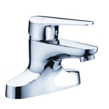 Chrome brass 2-hole basin tap for bathroom